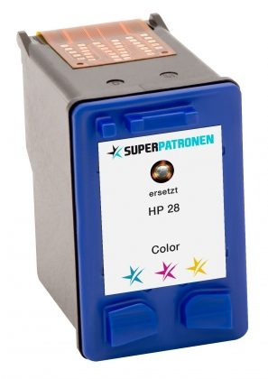 SUPERPATRONE ersetzt HP 28, color