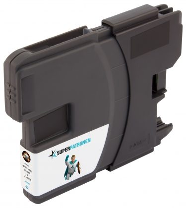 SUPERPATRONE ersetzt Brother LC-980C / LC-1100C, cyan
